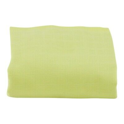 Muslin Squares 100/% Cotton 70x70cm Lime X24