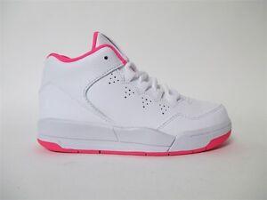 60c2dcef8 Nike Air Jordan Flight Origin 2 White Hyper Pink PS Pre School Sz 2 ...