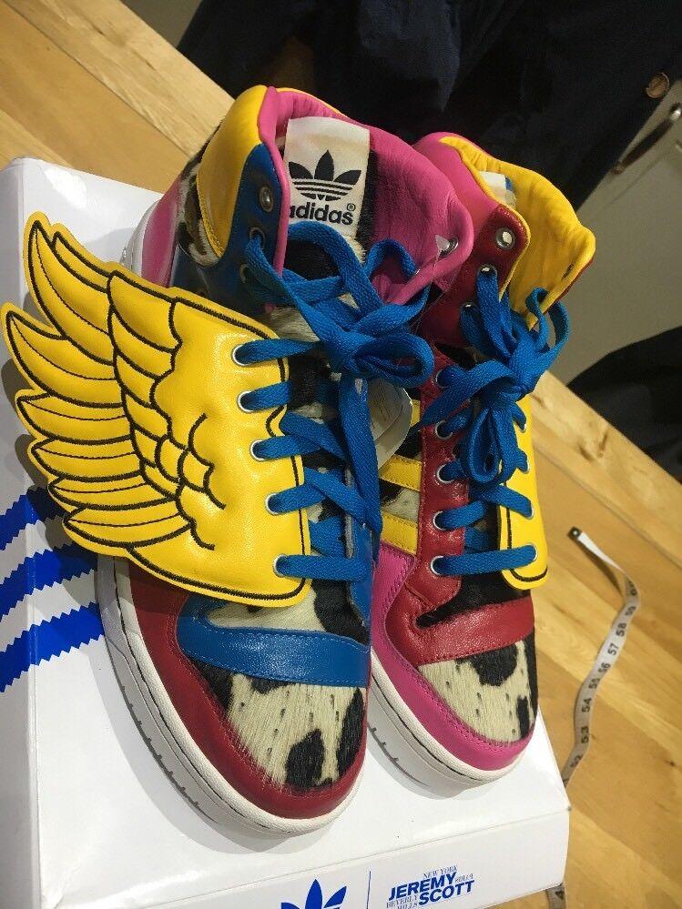 Adidas JS Wings V20692 UK10.5 10 1 2 Oddity (faux Fur Cowhide (2011 Deadstock