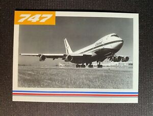 UNITED AIRLINES 747 FAREWELL COLLECTORS   Individual  cards