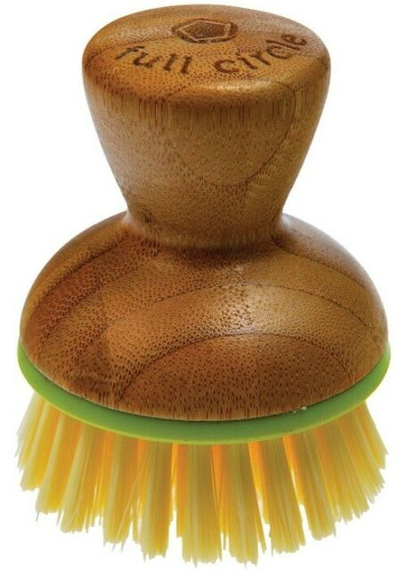 Full Circle Bubble Up Replacement Dish Brush Green