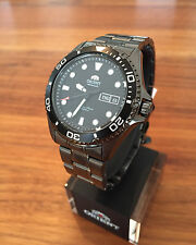 NEW! Orient Ray II Raven FAA02003B9 Automatic Watch Automatik Herren Taucher Uhr