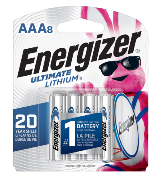 Energizer Ultimate Lithium Aaa Batteries Pack Of 8 For Sale Online Ebay