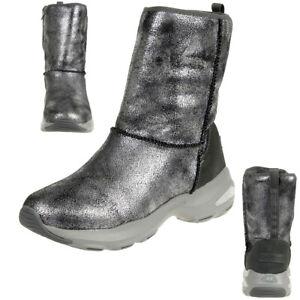 Skechers-D-039-Lite-Ultra-Temp-Women-039-s-Boots-Winter-Shoes-Padded-Warm-Gun