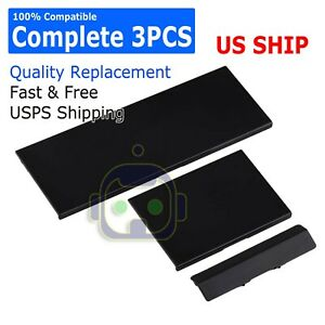 3-Black-Replacement-Door-Cover-Slot-Lid-Part-for-Nintendo-Wii-Console-System
