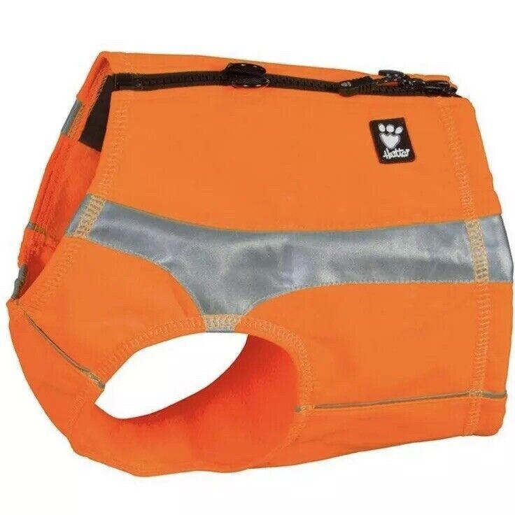 Hurtta Polar Visibility Dog Vest, orange, XXL