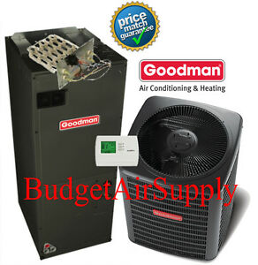 3-Ton-13-seer-410a-Goodman-A-C-System-GSX130361-ARUF37C14-Heat-Strip-TStat