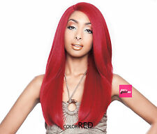 BS202 - ISIS Brown Sugar Human Hair Blend Soft Swiss Lace Front Wig