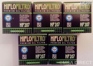 1 x Air Filter and 5 x Oil Filters 2016 to 2018 Kawasaki KX450F Filter Kit