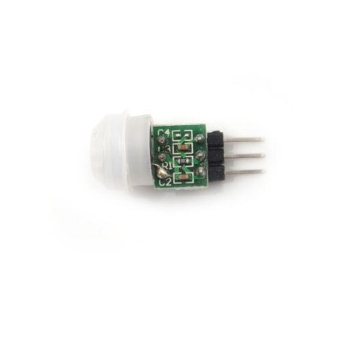 1X Mini IR Infrared Pyroelectric PIR Body Motion Human Sensor Detector Module Wv