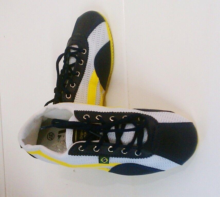 Taygra Brasil bluee & White Slim Sneakers Flexible & Light shoes Size 38 Brazil