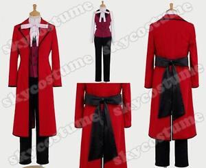 Black-Butler-Kuroshitsuji-Shinigami-Jack-Ripper-Grell-Sutcliff-Cosplay-Costume