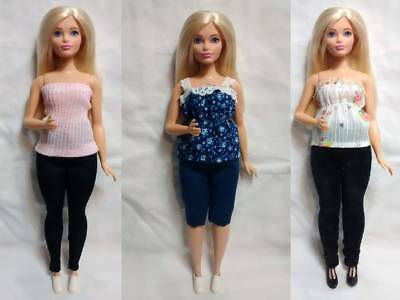 CLOTHES High Quality Handmade 5 Piece Wardrobe Lot for Mattel CURVY BARBIE #5