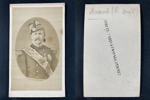 Teruel, Paris, Henri Orléans, duc Aumale Vintage cdv albumen print.Henri d&#03