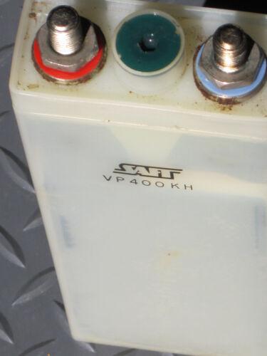 Make Offer! 4 SAFT VH 400KH  AIRCRAFT BATTERIES No Electrolyte