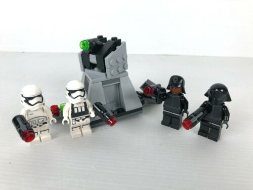 LEGO Star Wars 75132 First Order Battle Pack complet no plan 2016