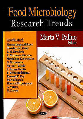 Food Microbiology Research Trends by Nova Science Publishers Inc (Hardback,...