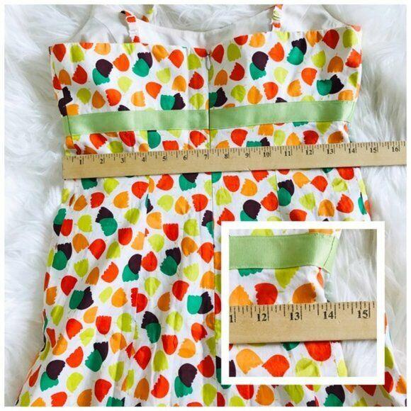 Shoshanna tulip flower print sleeveless dress, SI… - image 9