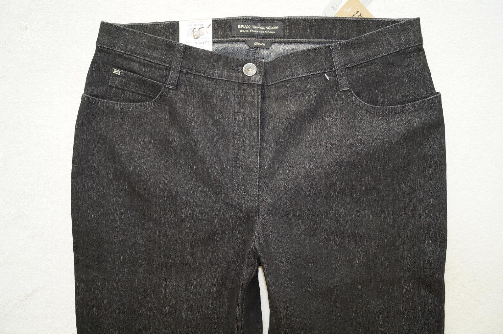 BRAX  CAROLA  Jeans Denim Denim Denim Nr.600  Gr. 38, 44  L30, 34 Feminine Fit  schwarz NEU | Zürich  02f558