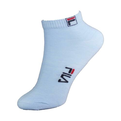 Women/'s Fila Sport Gym Casual Cotton Gentleman Ankle Trainer Socks 6-11 UK Lot