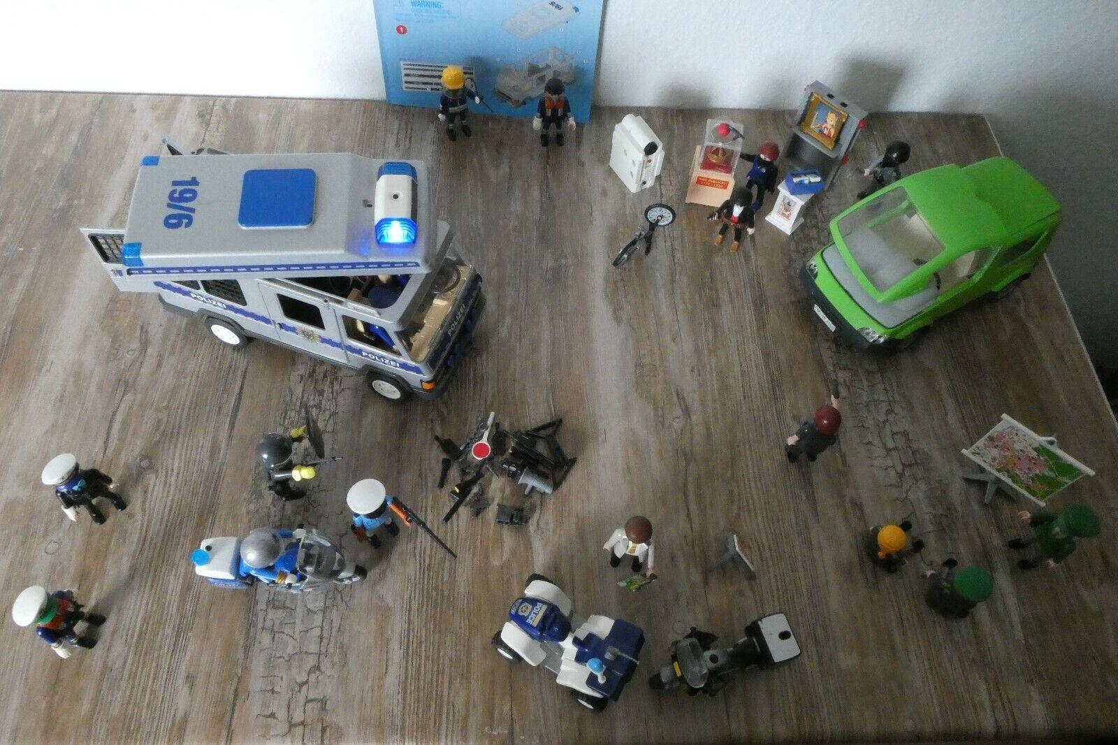 Playmobil Polizei Set Fahrzeug Figuren Auto Polizeiauto Zubehör Ersatzteile