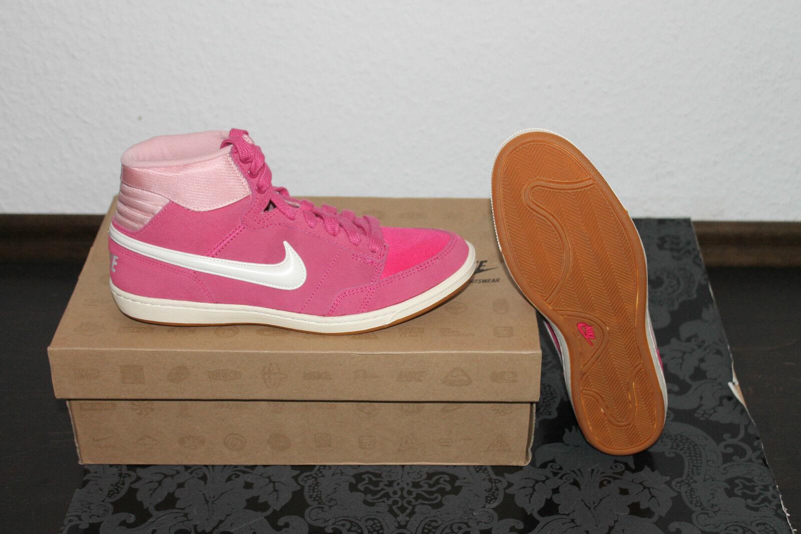 Nike Doubleteam Femmes Lifestyle Baskets Rose Blanc Taille 38,5 ou 40 Nouveaux
