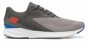 New-Balance-Men-039-s-Fuel-Core-Vizo-Pro-Run-Shoes-Grey-with-Blue