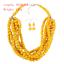 Women-Bohemian-Choker-Chunk-Crystal-Statement-Necklace-Wedding-Jewelry-Set thumbnail 130