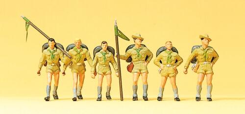 """Preiser 10260 personaggi h0 /""""Boy Scout #neu in OVP #"""