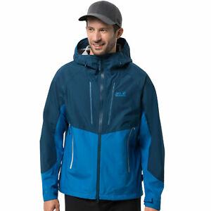 promo code f10af 9385b Details zu Jack Wolfskin Kanuka Ridge Jacke Herren-Regenjacke Wetter  Funktionsjacke Wander