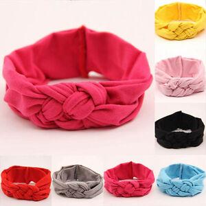 Baby-Toddler-Soft-Girl-Kids-Hairband-Turban-Knitted-Knot-Cross-Headband-Headwear