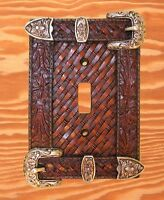 Western Decor Western Belt Buckle Single Switch Cover