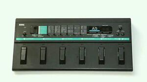 Korg-A5-Bass-Performance-Signal-Processor-Effects-Pedal-Board-Vintage-Used