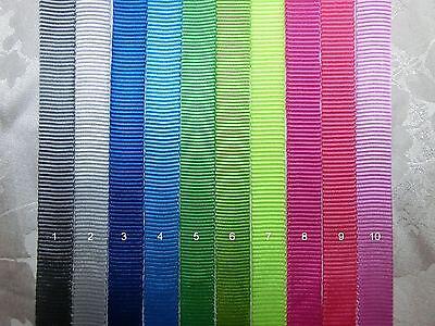 5/8'' (15mm) - Tubular Nylon Webbing- multi color choices -5,10 yards