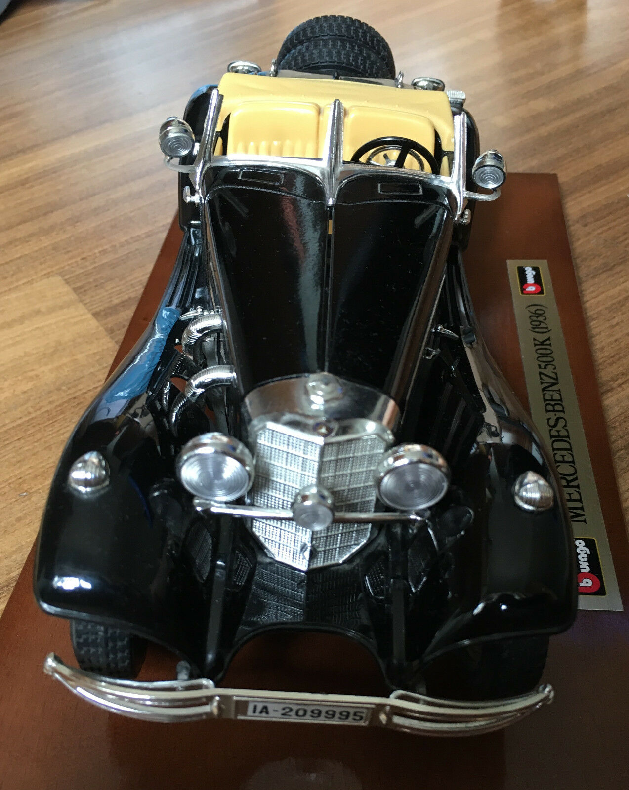 Bj.: 1936 Nero 1:20 MERCEDES-BENZ 500 K Roadster Bburago