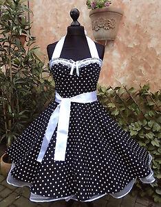 94c9915d62cf Das Bild wird geladen Petticoat-Jugendweihe-Konfirmation-Abiball-Abtanz-Tanz -Fest-Kleid-