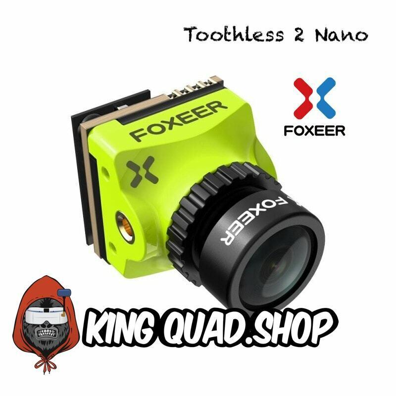 Foxeer Toothless 2 Nano FPV Camera Green 1.8mm Stadard