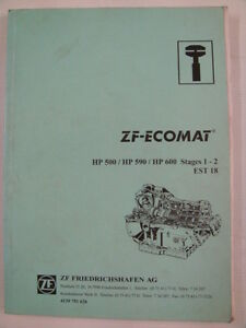 s l300 zf ecomat auto transmission hp 500 590 600 service manual ebay zf ecomat 2 wiring diagram at panicattacktreatment.co