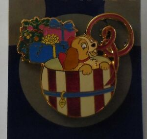 Details about Disney Pin DLR Disney Dreams Collection Lady in a Hatbox Pin LE1000