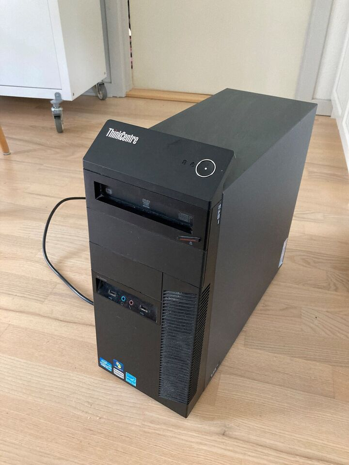 Lenovo, M91p opgraderet, 3,1 Ghz