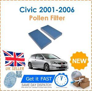 For honda civic type r ep3 eu mk7 2001 2006 2 cabin pollen filters image is loading for honda civic type r ep3 eu mk7 malvernweather Images