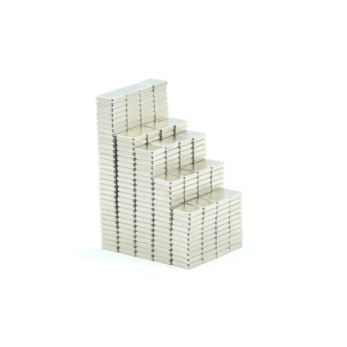 N35 5mm x 5mm x 1.2mm strong Neodymium block magnets BULK PKS craft fridge