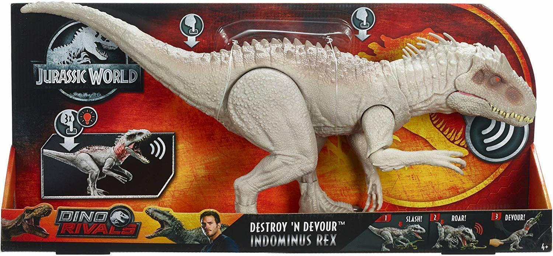 Jurassic World GCT95 - Jurassic World Fressender Kampfaction Indominus Rex Neuf