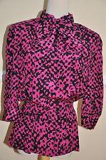 Authentic Vintage Designer Nina Ricci Paris Blouse Size 14