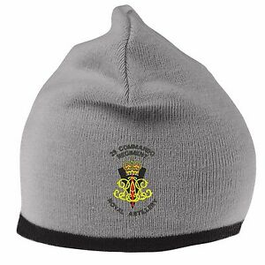 cb3ccfa33bc Image is loading 29-Commando-Royal-Artillery-Beanie-Hat-with-Embroidered-
