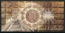 Curacao 2012 Maya Kalender Mayan Calendar Geschichte Archäologie Block ** MNH