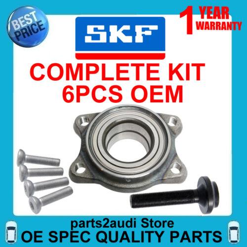 Wheel Hub Bearing KIT Complete OEM SKF for Audi A4 A6 A8 /& Volkswagen Passat