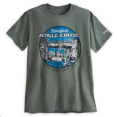 Disneyland Jungle Cruise 60th Anniversary Limited Edition Tee, NEW