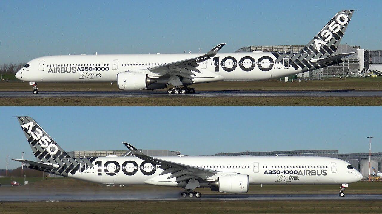 Inflight 200 IF35010001 1/200 Airbus A350-1000 F-Wlxv con Supporto Supporto Supporto a12258