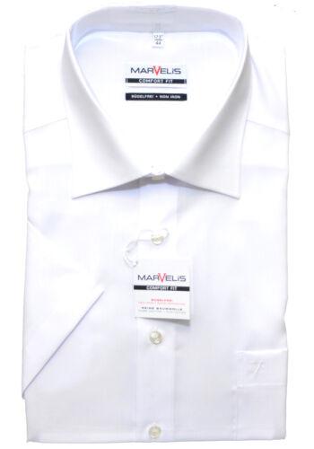 Modern Fit Tg Marvelis Business Camicia Maniche corte 44 46 Bianco 46 Comfort Fit tg